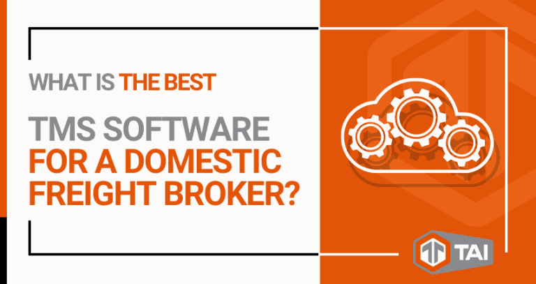 3. What Is the Best TMS Software for a Domestic Freight Broker